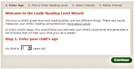 BN Lexile Reading Level
